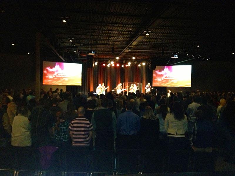 Ridge worship service
